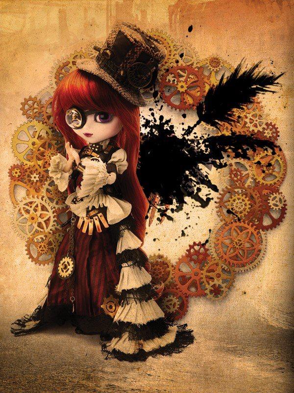 Pullip Dolls Ebay Aurora Pullip Doll Steampunk