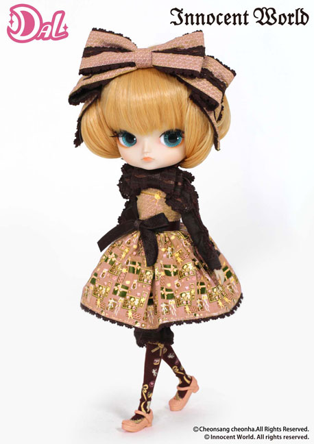 Innocent World Coat: Groove Inc Kleine Dal Doll Innocent World Collaboration